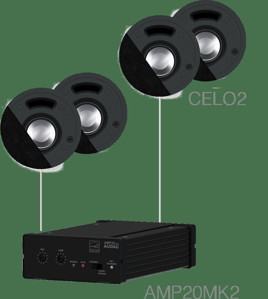 SENSO2.4 - 4 x CELO2 + AMP20