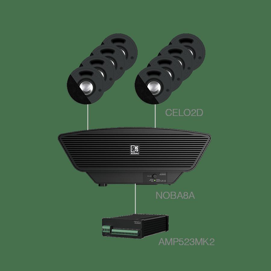 SENSO2.9+ - 8x CELO2D + NOBA8A + AMP523MK2
