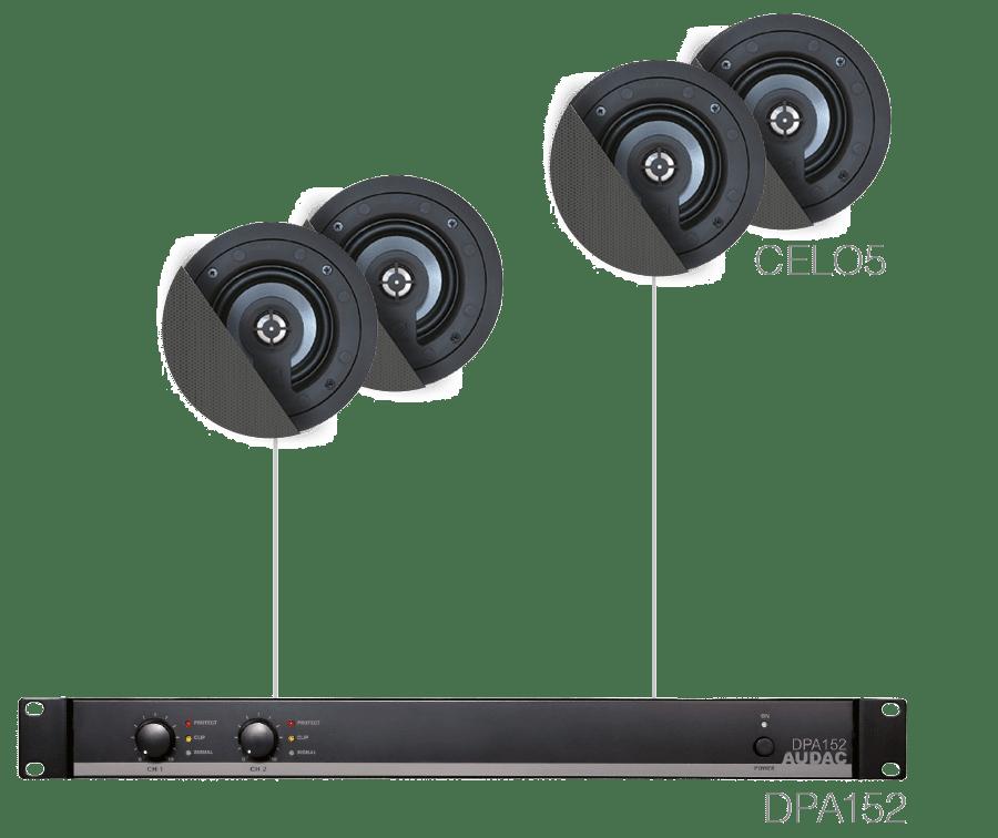 SENSO5.4 - 4 x CELO5 + DPA152