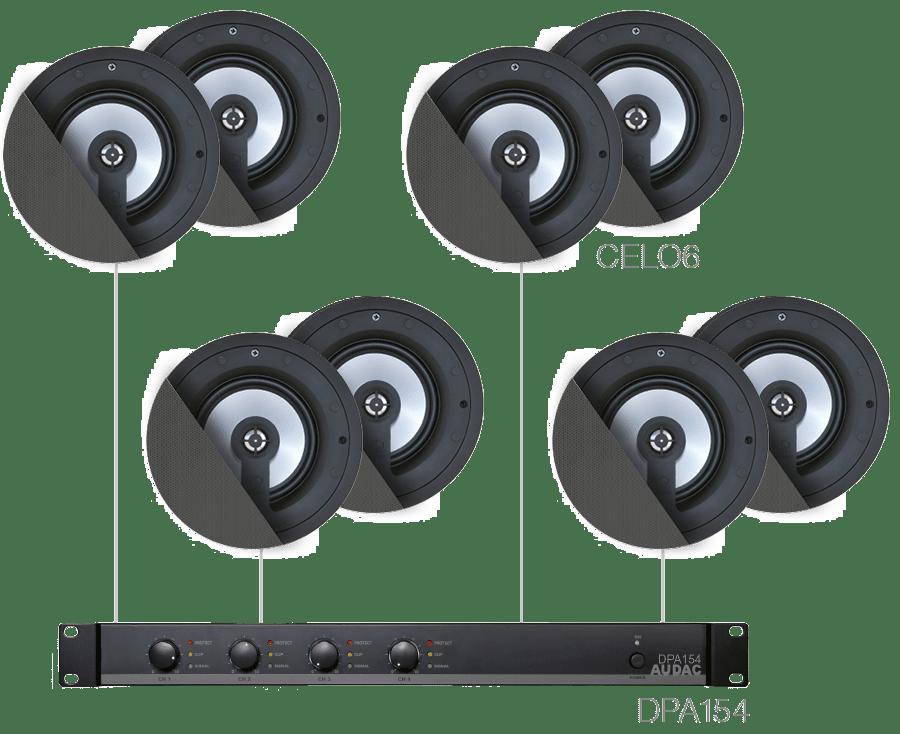 SENSO6.8 - 8 x CELO6 + DPA154