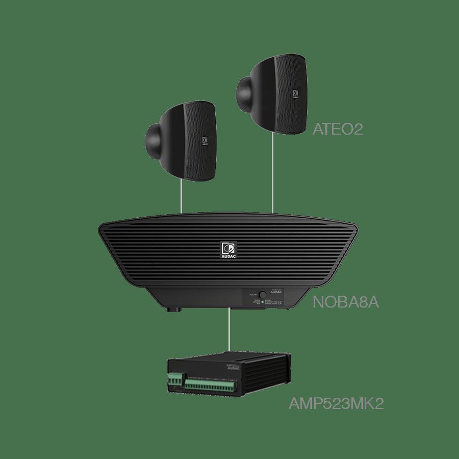 SONA2.3+ - 2x ATEO2 + NOBA8A + AMP523MK2