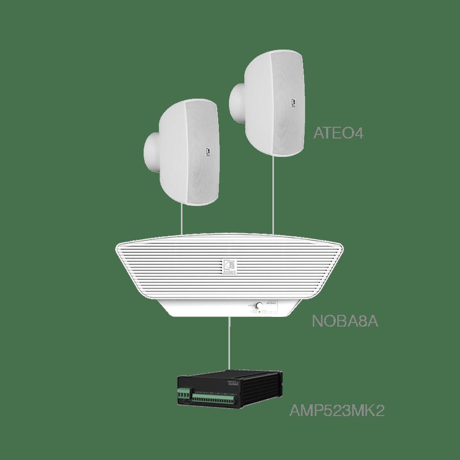 SONA4.3+ - 2 x ATEO4 + NOBA8A + AMP523MK2