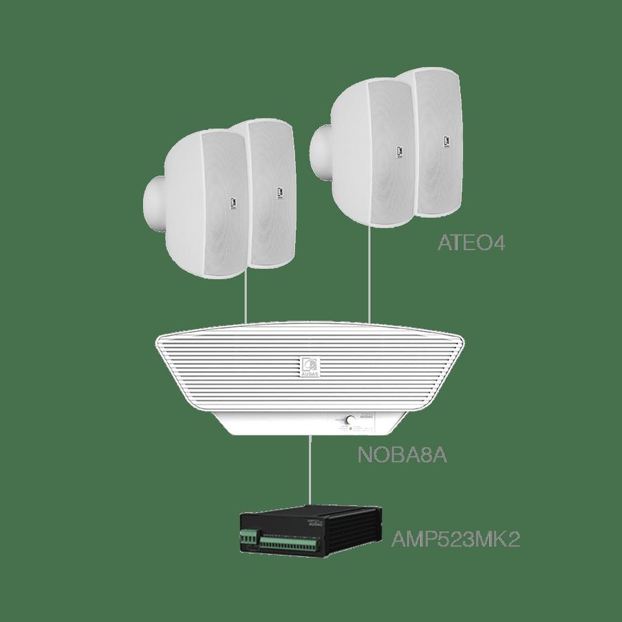 SONA4.5+ - 4x ATEO4  + NOBA8A +AMP523MK2