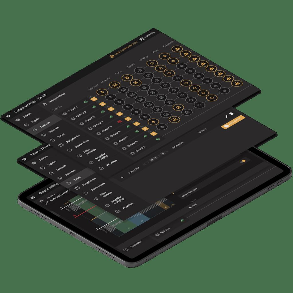 AUDAC Touch™ 2 - Amplify sound, simplify control