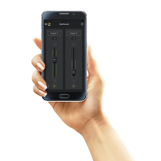 AUDAC Touch™ - Total system control