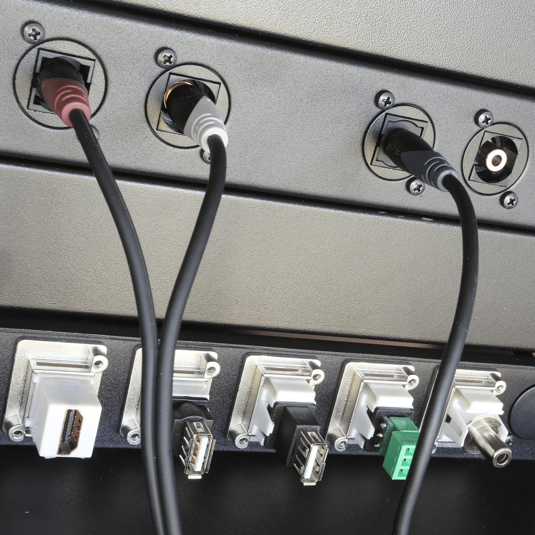 Connection panels -