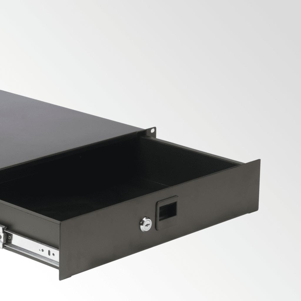 Lockable rack drawers -