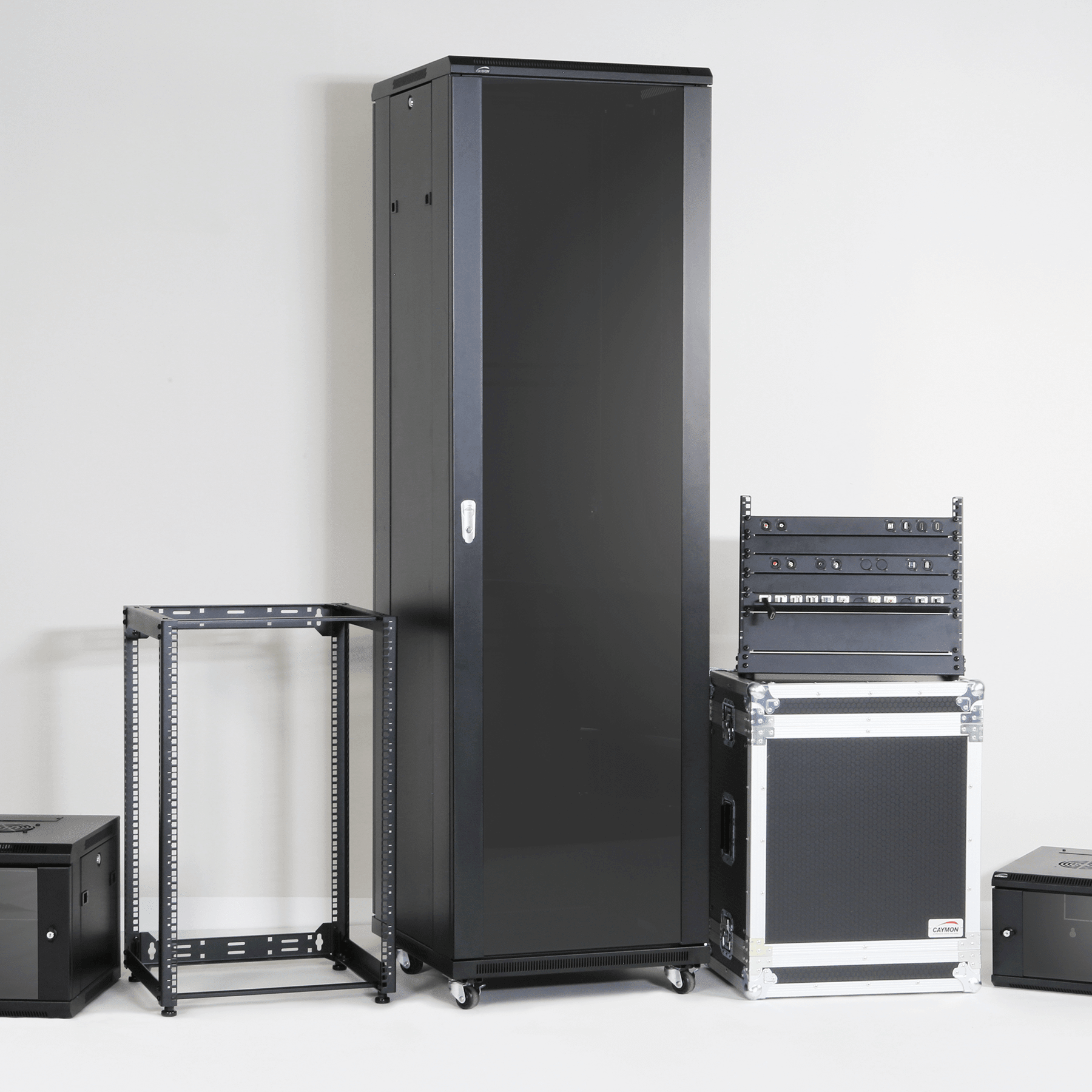 Stands, Racks and Flightcases -