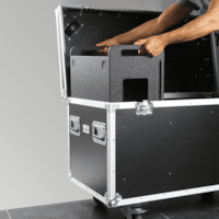 Redesigned modular flightcases