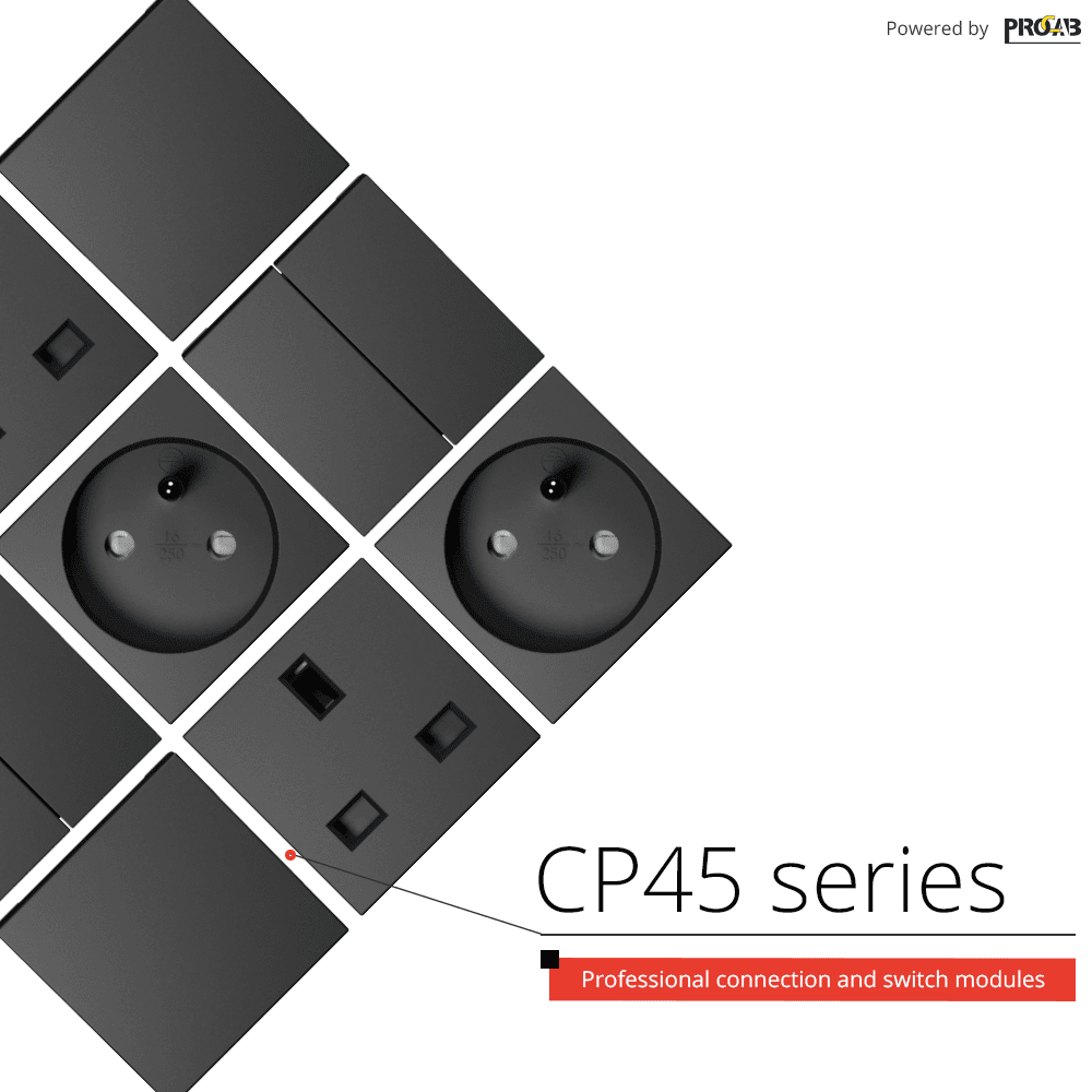 New CP45 series connection and switch modules - Now available