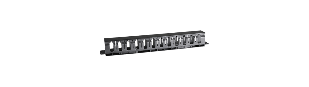 19in 1u Horizontal Cable Management