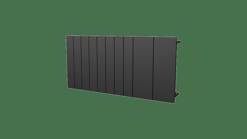 DIN rail blanking strip - 6 module - 10 strips
