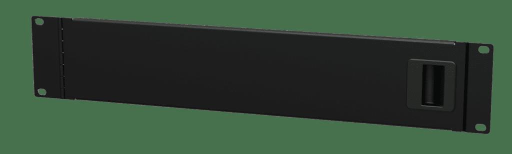 """BSD02 - 19"""" blind panel with service door - 2HE"""