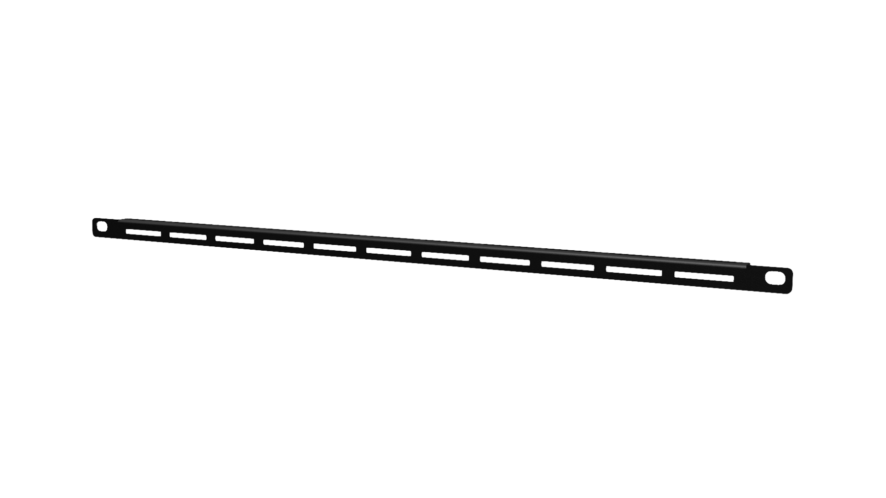 "BSV003 - 19"" Rackmount cable Lacing bar with cable tie slots"