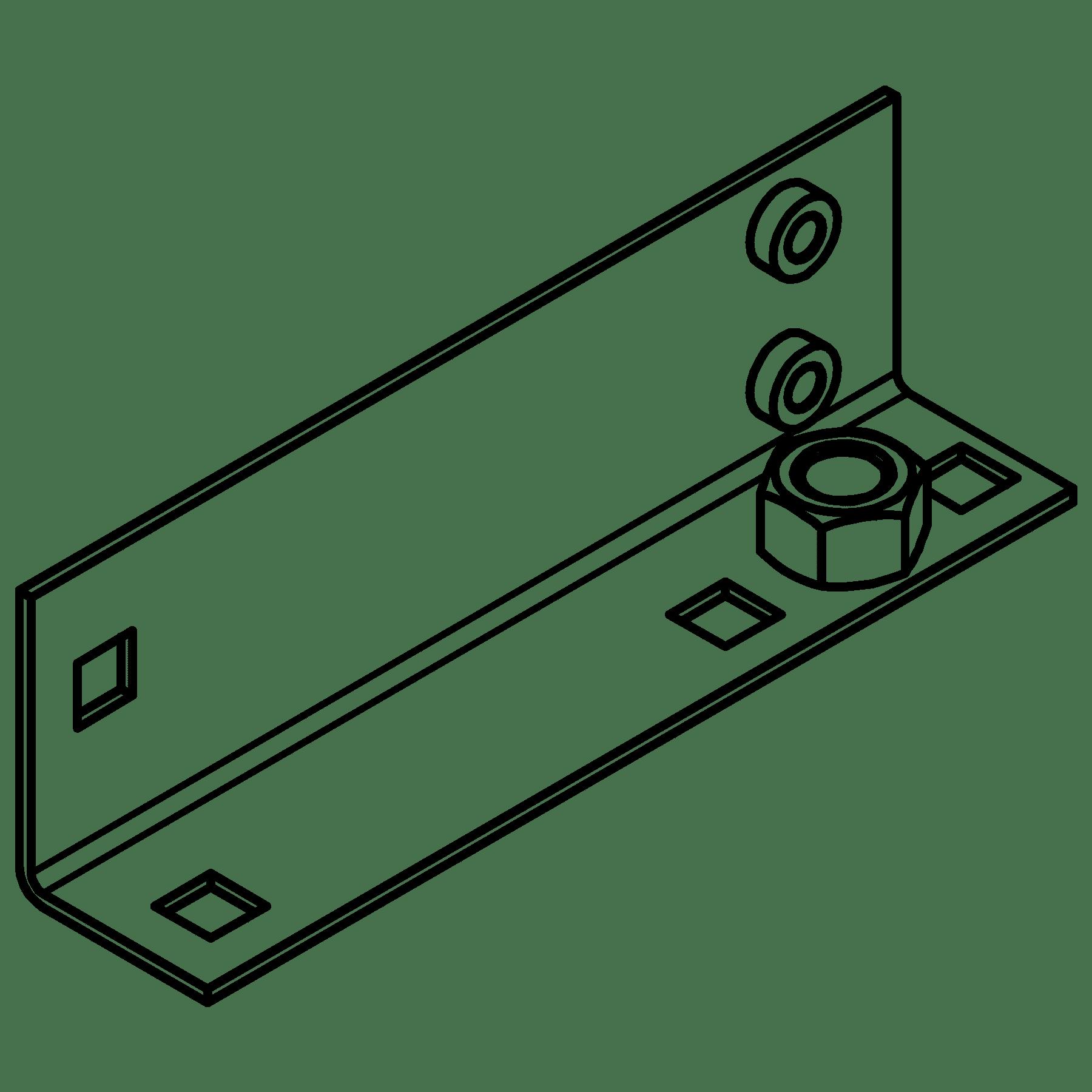 CA5630011 - MET L-bracket OPR3xx left side