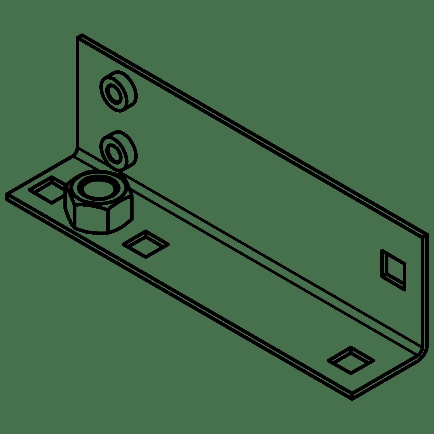 CA5630021 - MET L-bracket OPR3xx right side