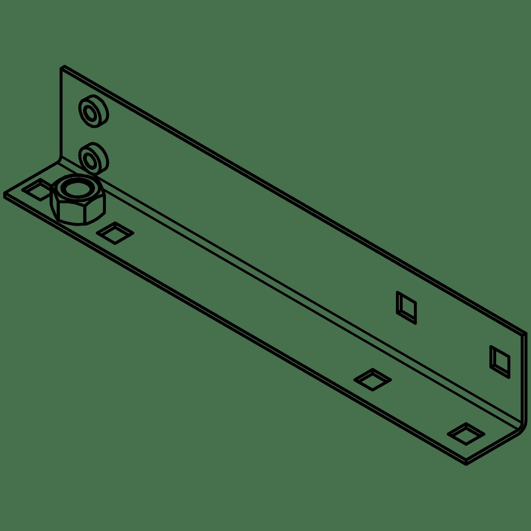 CA5650021 - MET L-BRACKET OPR5xx RIGHT SIDE - BLACK