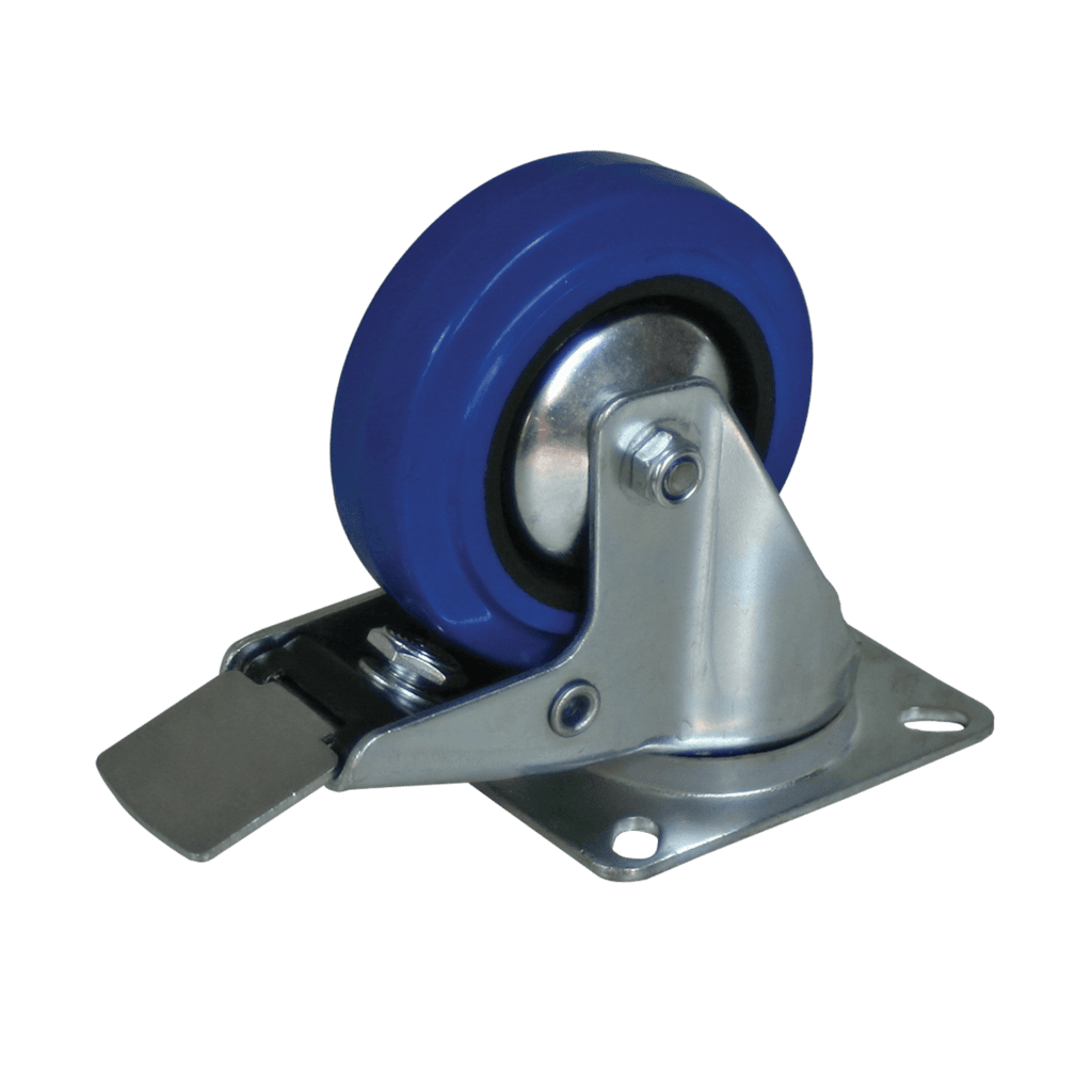 CAS110L - Swivel bearing caster 100mm with brake