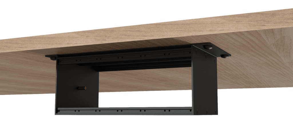 CASY003 - CASY chassis 6 space - 90° surface mount - 120mm