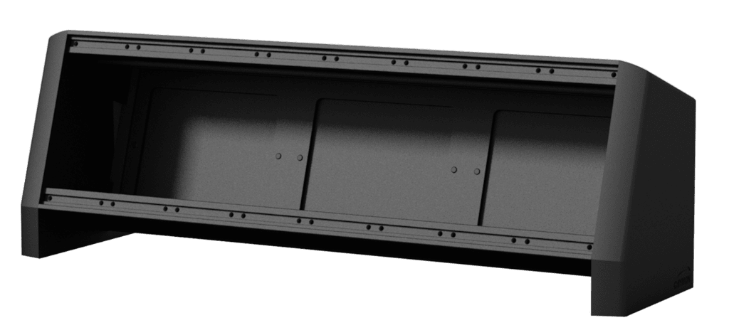 CASY018 - CASY On-Table Chassis - 8 space