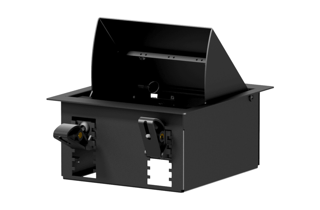 CASY In-table mount box - 4 space