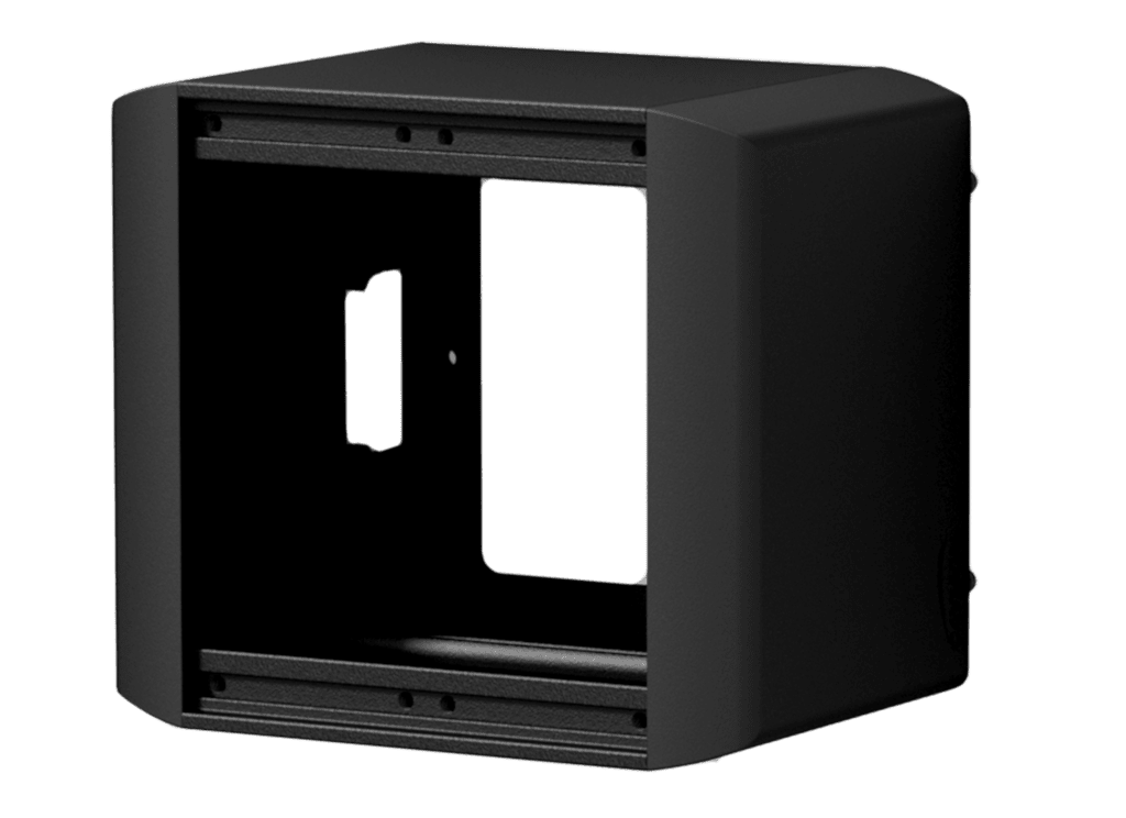 CASY on-wall chassis - 2 space