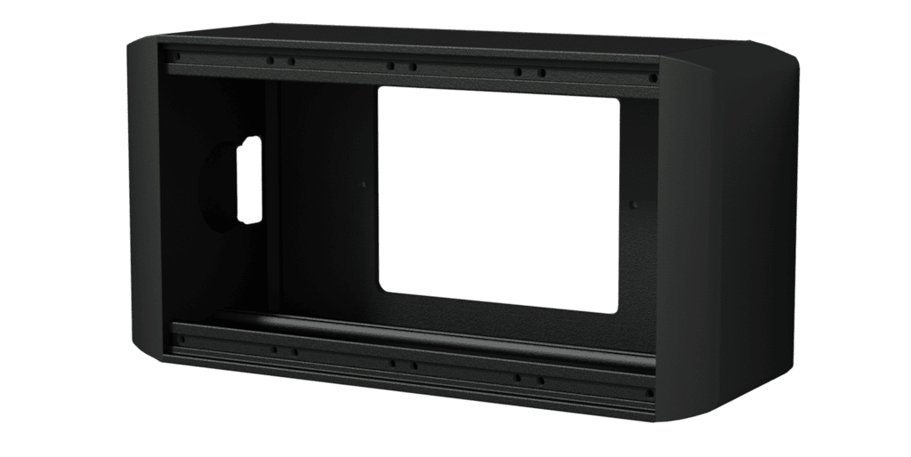 CASY on-wall chassis - 4 space