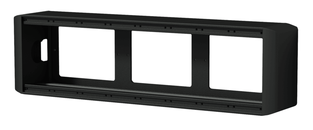 CASY on-wall chassis - 8 space