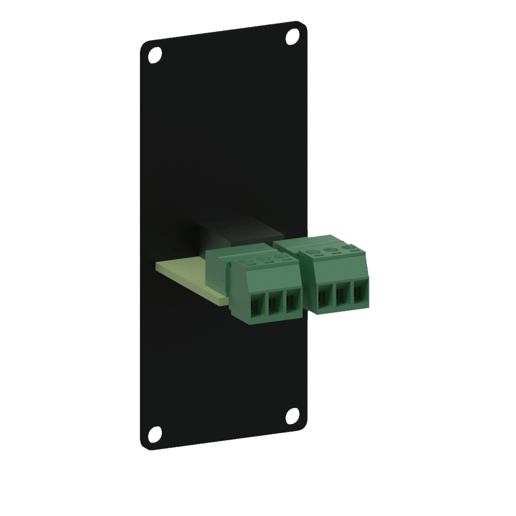 CASY136 - CASY 1 space with 3.5mm jack to 3-pin terminal block