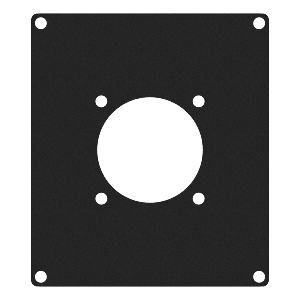 CASY205 - CASY 2 space cover plate - 1x G-size hole
