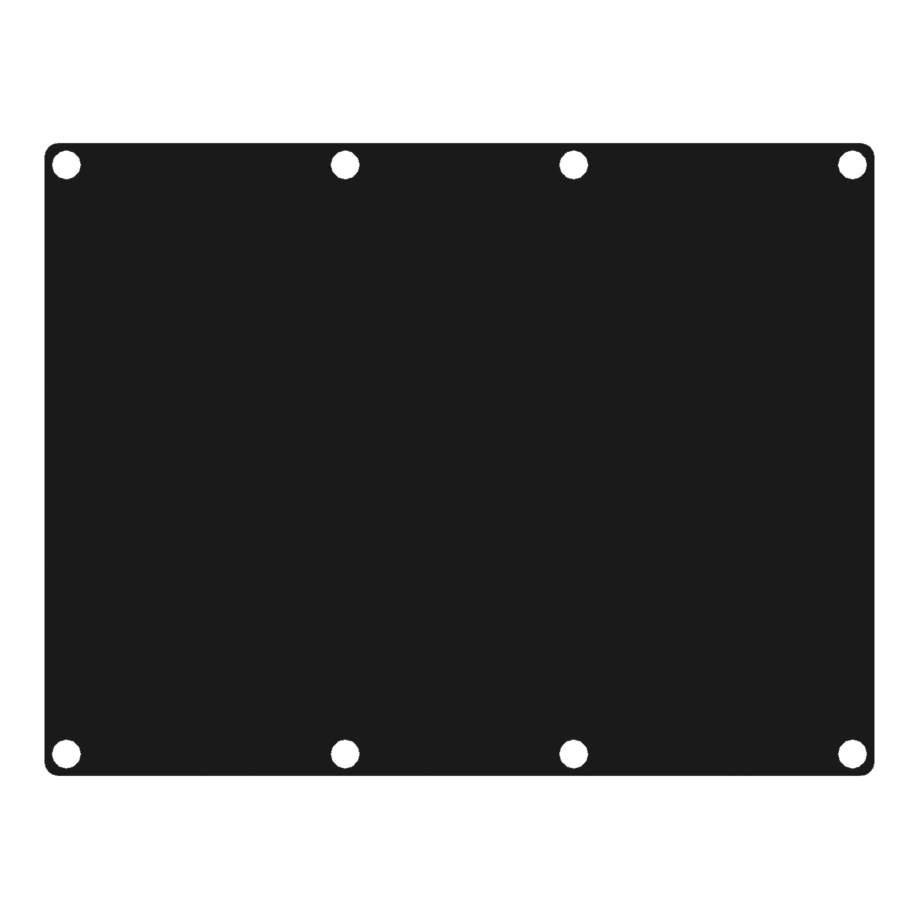 CASY301 - CASY 3 space closed blind plate