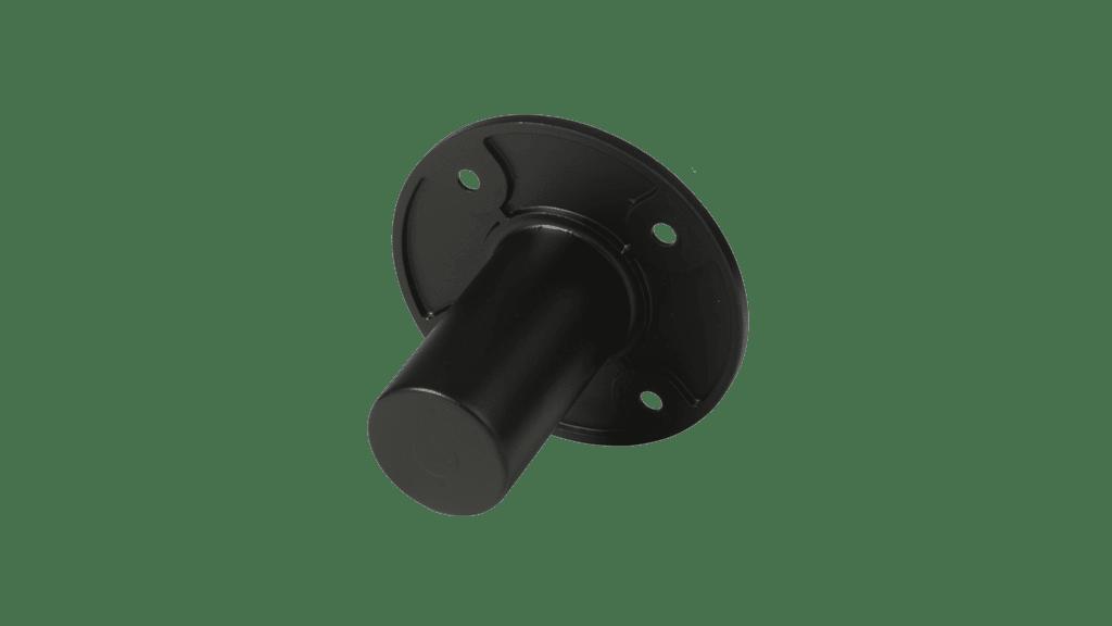 Flush Mount Head Base For Speaker Cabinet 35mm - Black