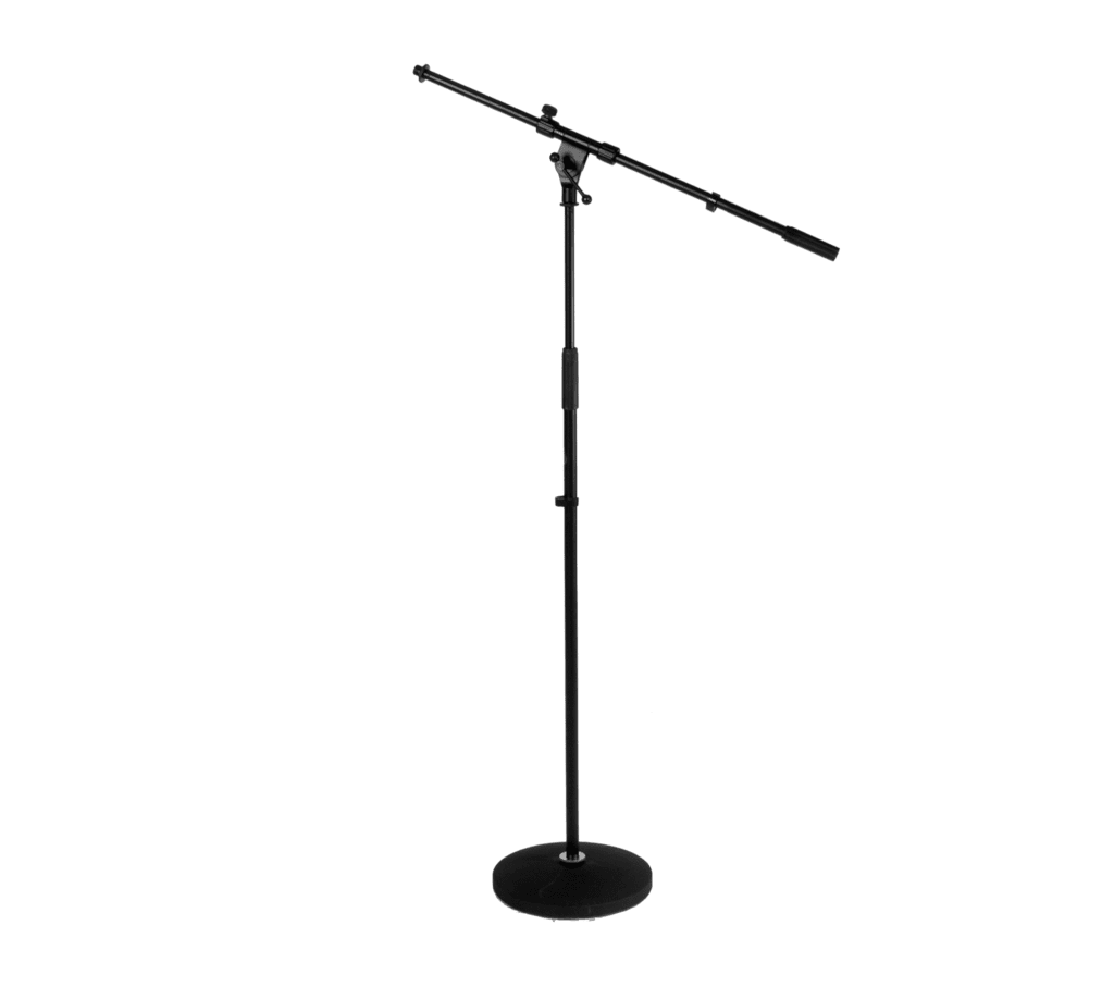 Microphone boom floor stand