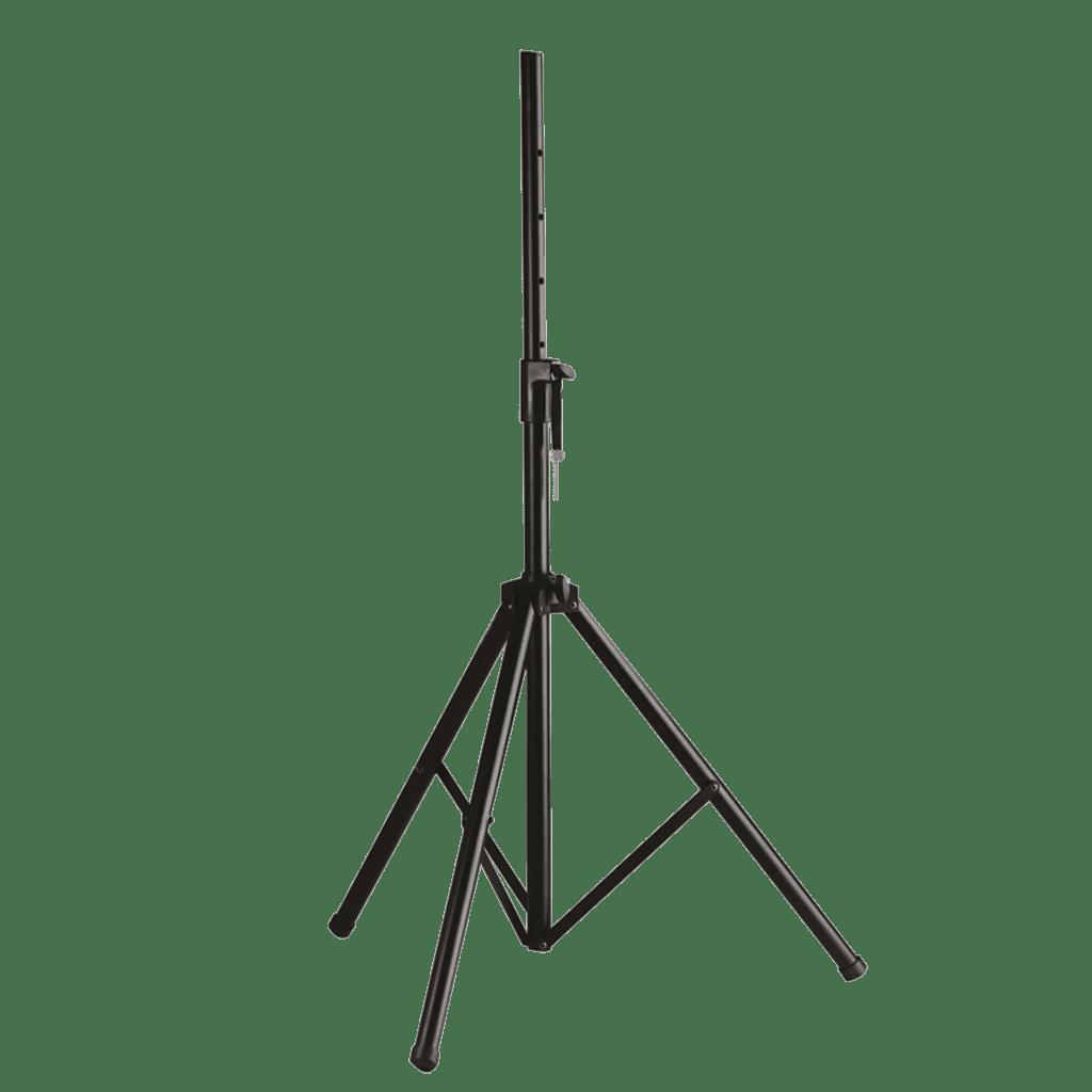 Aluminium speaker stand with air suspension.