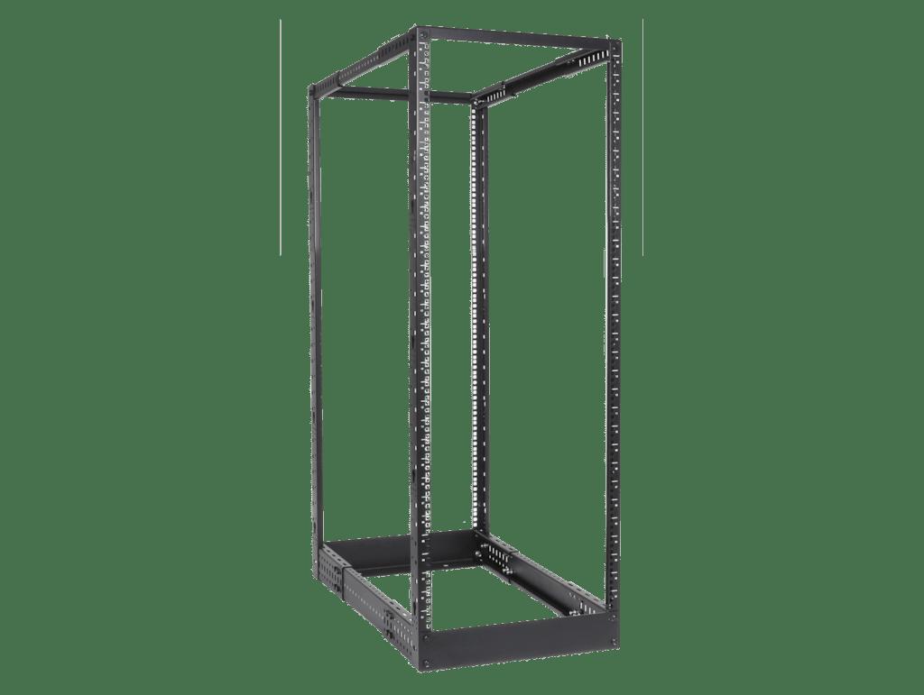"DPR932 - 4-post 19"" open-frame rack - 32 units - 550~1015 mm depth"