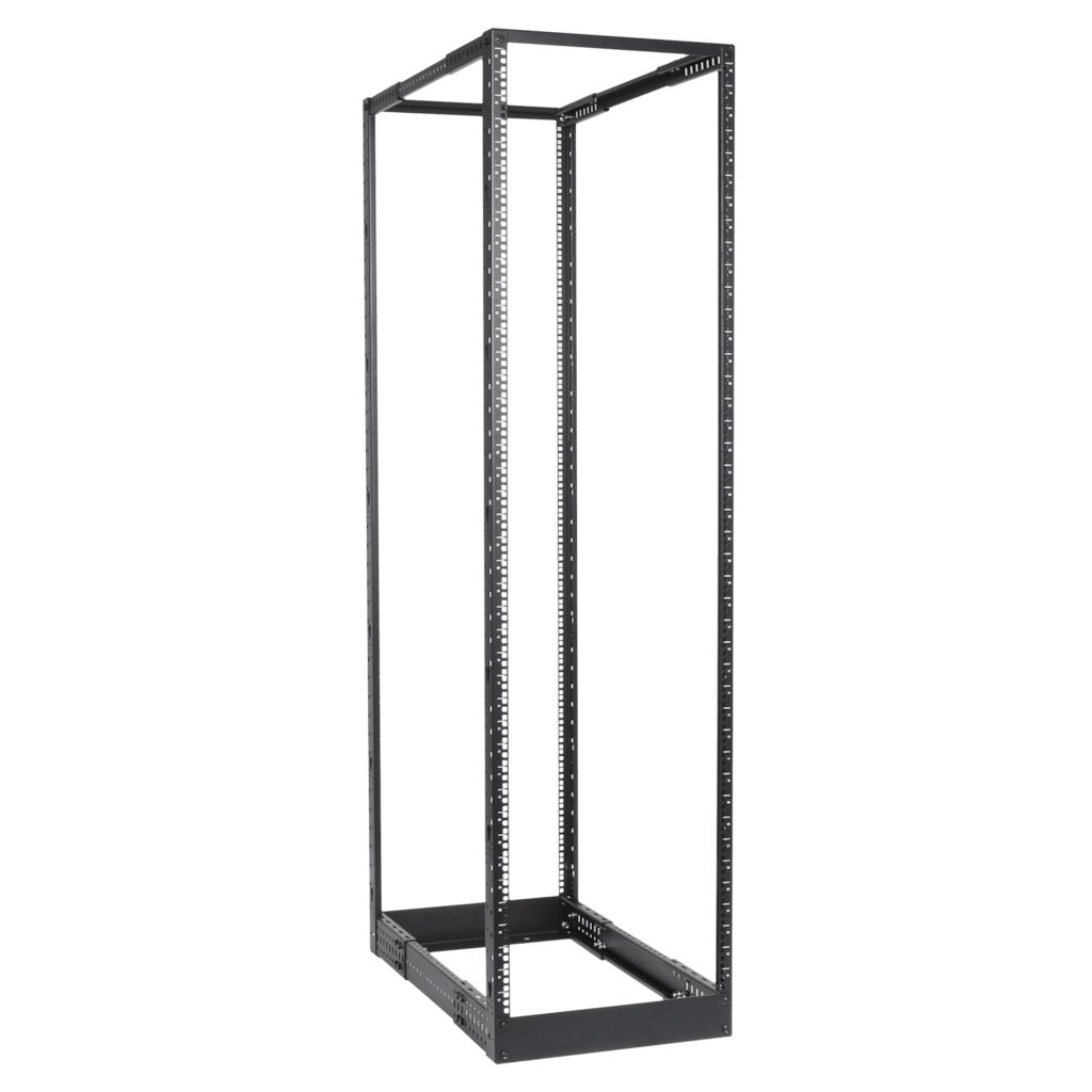 "DPR942 - 4-post 19"" open-frame rack - 42 units - 550~1015 mm depth"