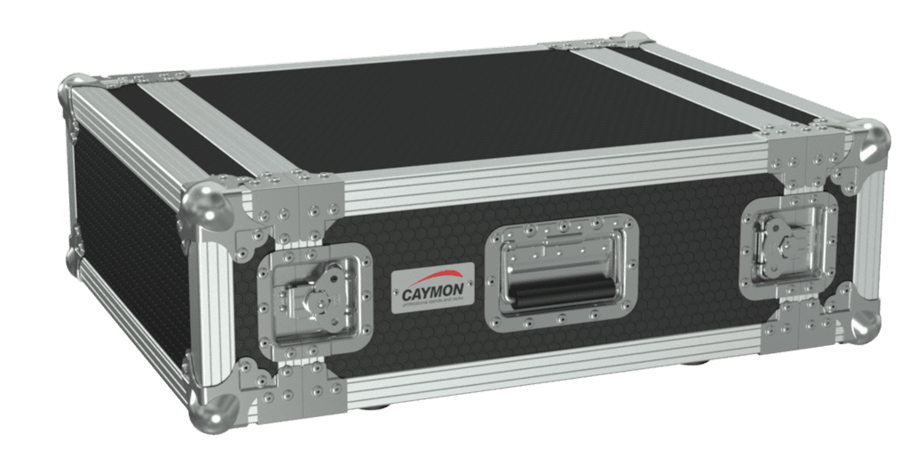 19in Flightcase - 4he - 507mm Depth - Black