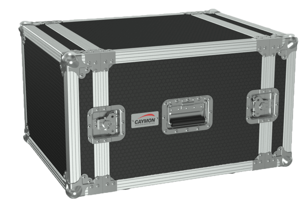 "FC108 - 19"" flightcase - 8HE - 507mm depth"