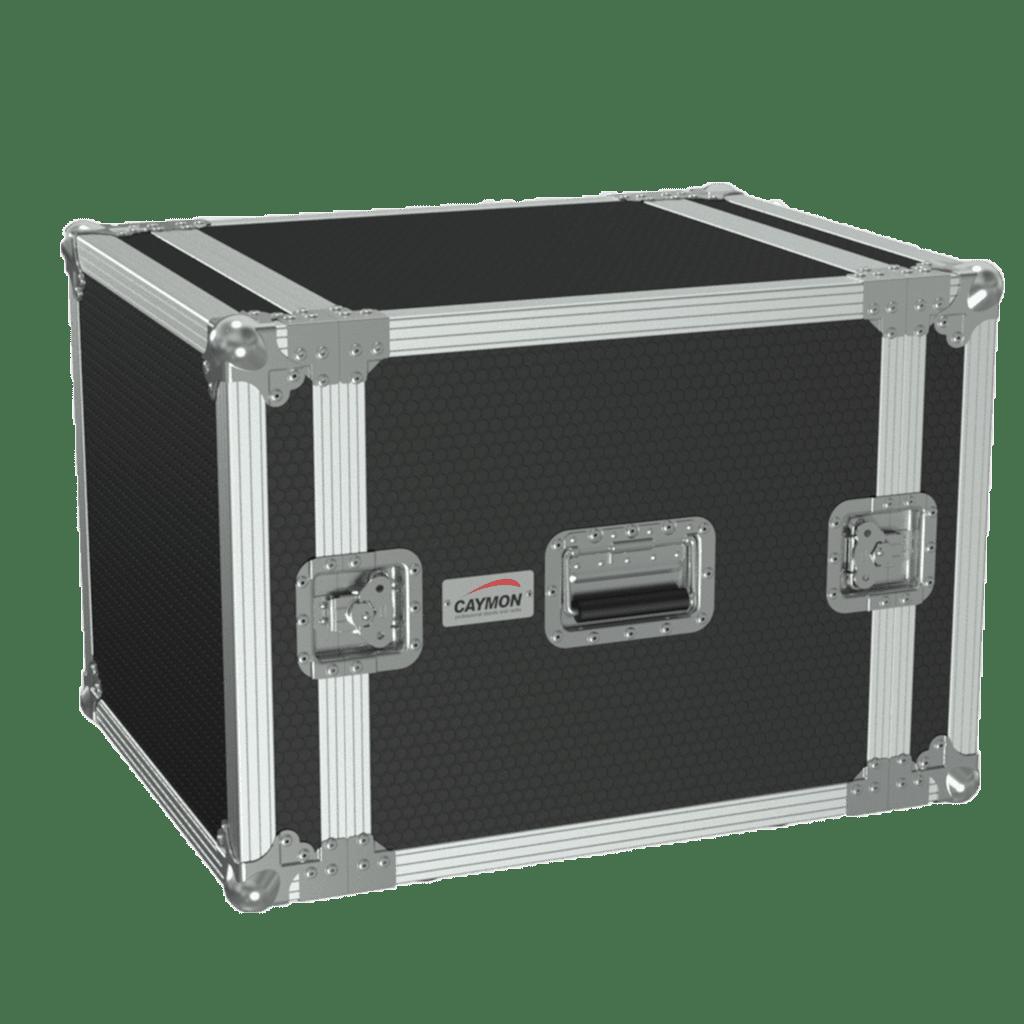 19in Flightcase - 10he - 507mm Depth - Black