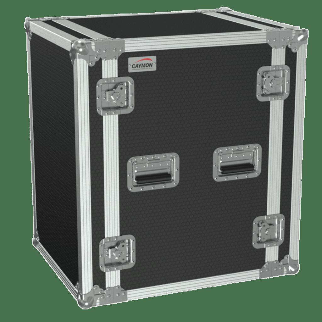 19in Flightcase - 16he - 507mm Depth - Black