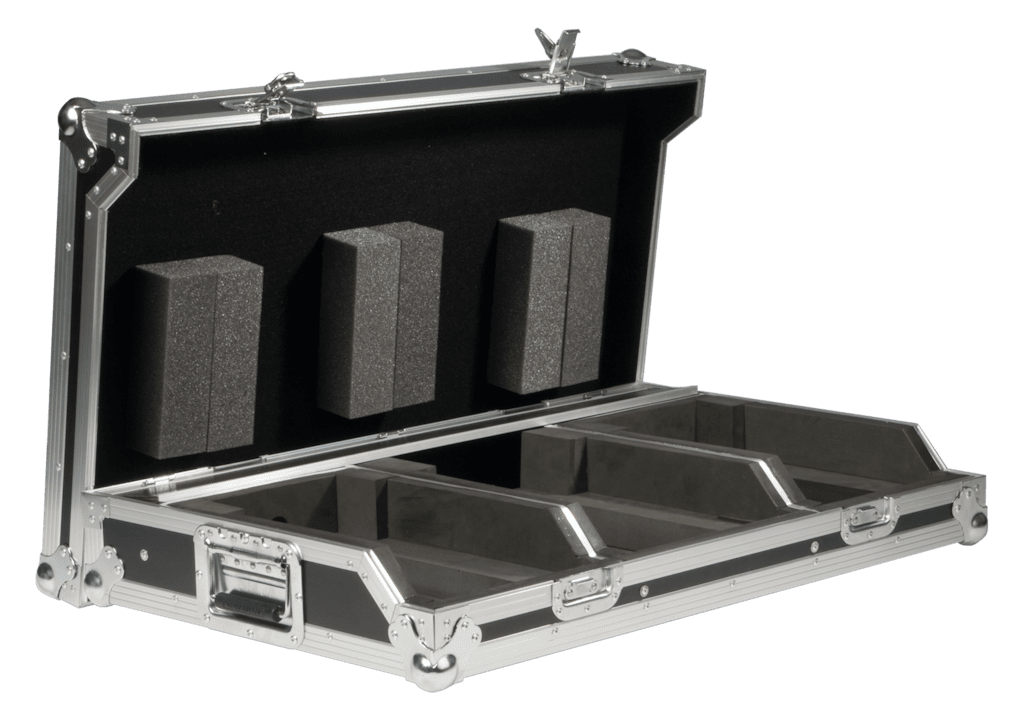 "FCDJ2100 - Professional DJ flightcase for 10"" mixer & 2 pioneer cd-players"