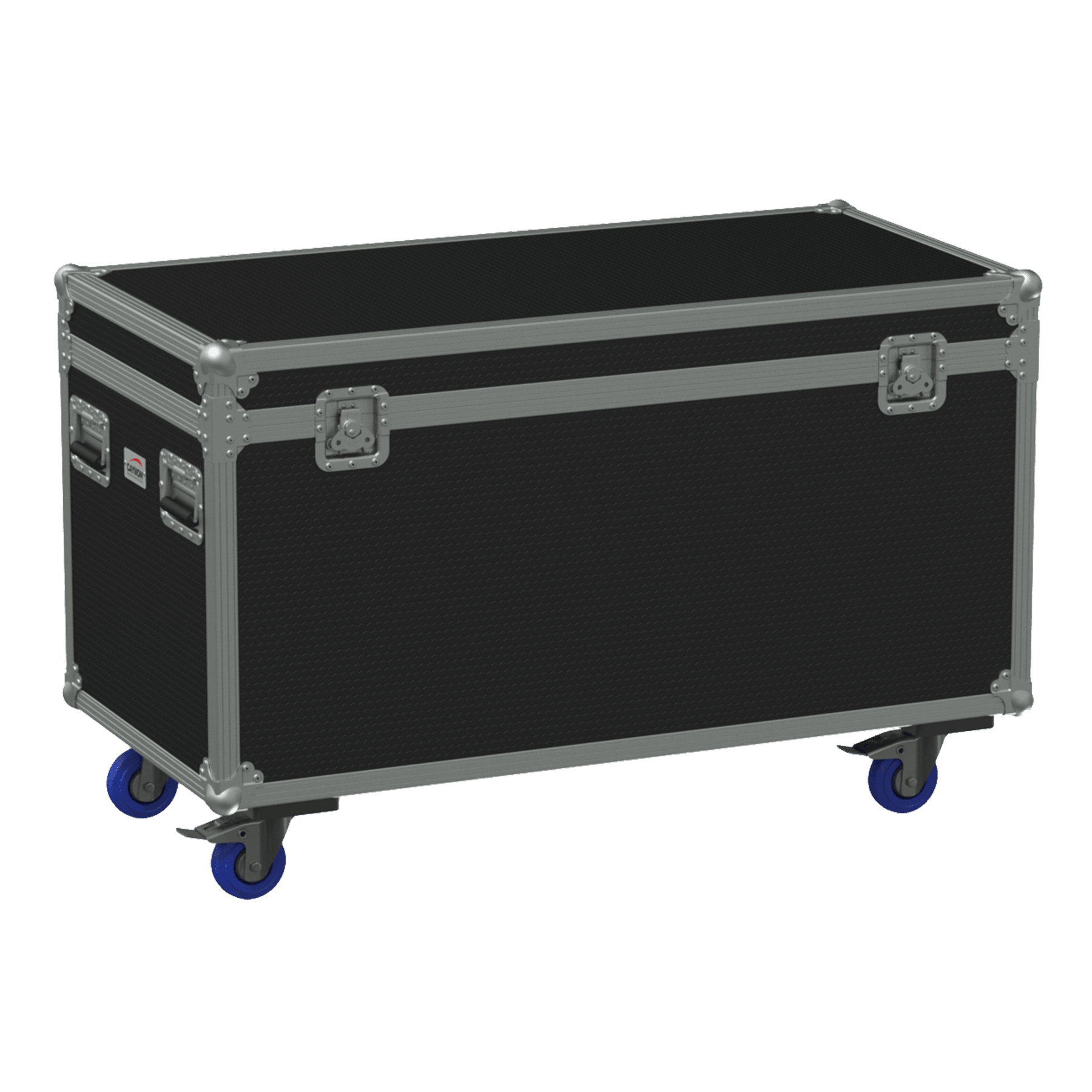 FCE126H - Flightcase euro 1120x600x620m m with hinge cover, wheels included