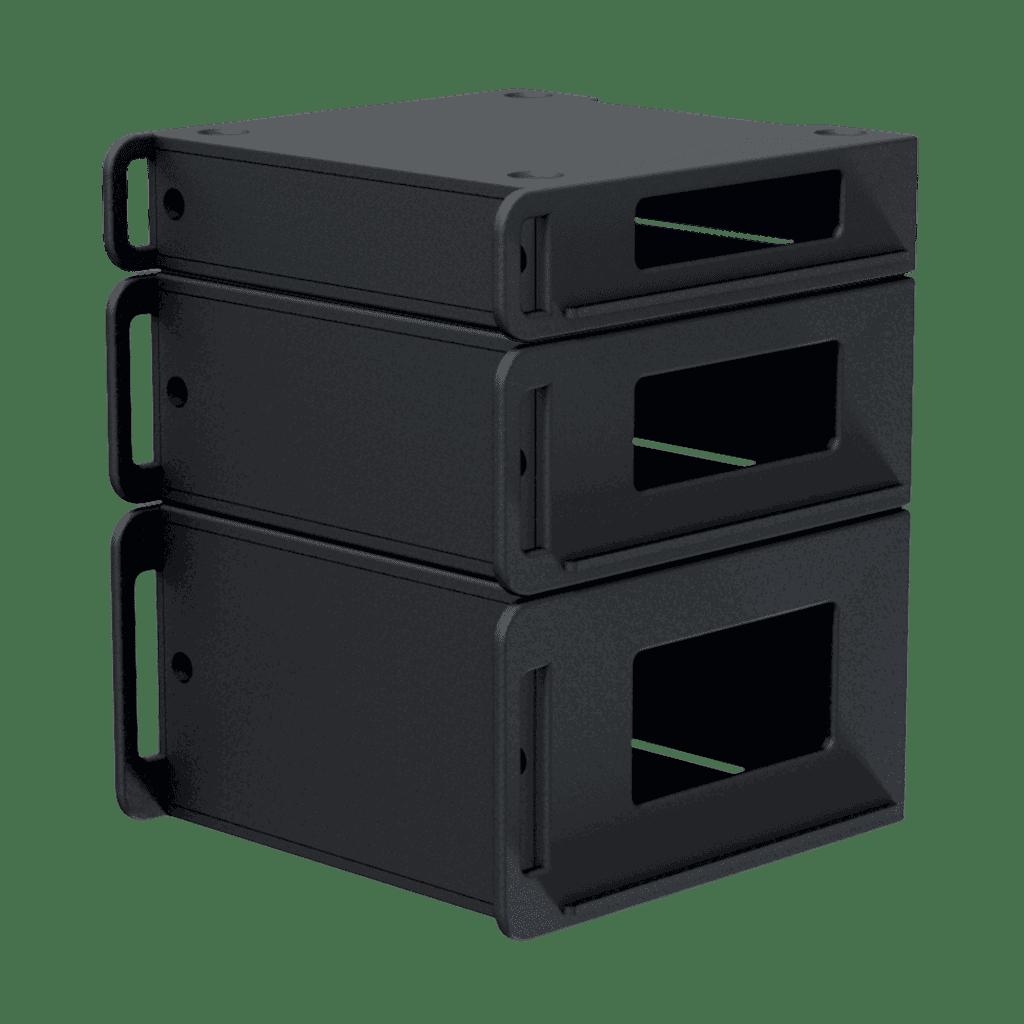 "FCI102 - Flightcase 19"" rack insert 2 HE"