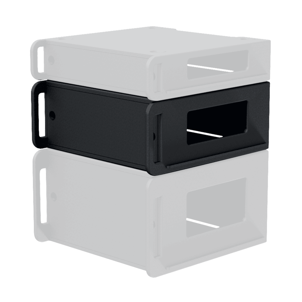 "FCI104 - Flightcase 19"" rack insert 4 HE"