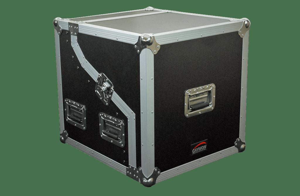 FCS02 - Half open - combo flightcase height 2u