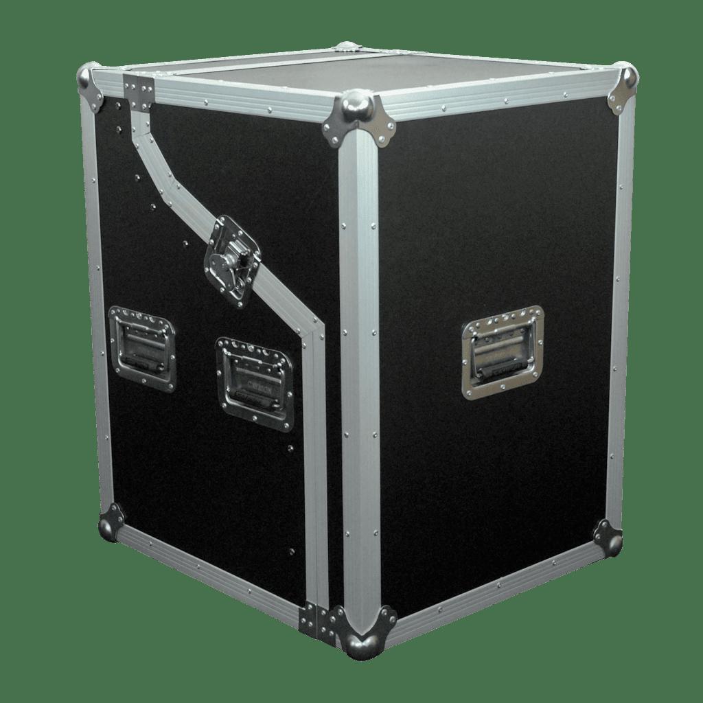 FCS06 - Half open - combo flightcase height 6u