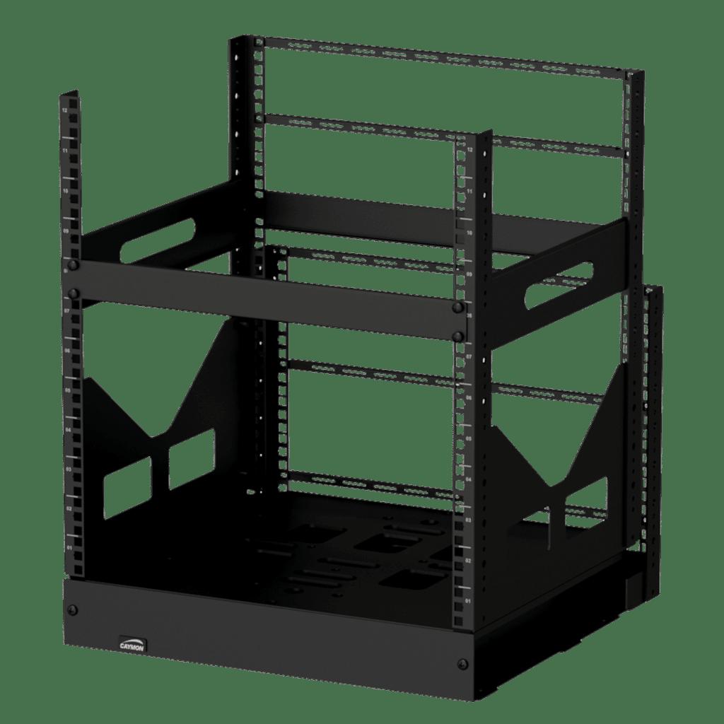 """GPR412 - 19"""" slide-out rack - 12 units - 420mm depth"""
