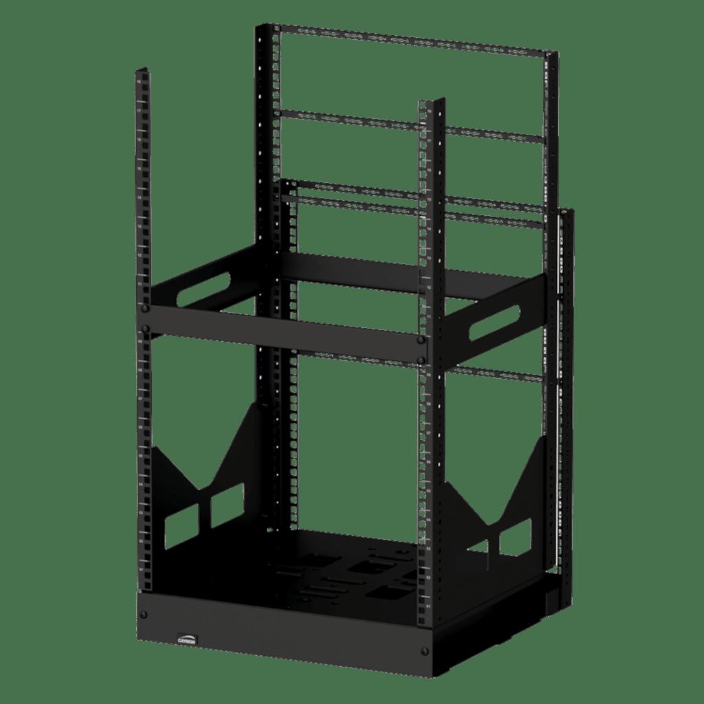 """GPR418 - 19"""" slide-out rack - 18 units - 420mm depth"""