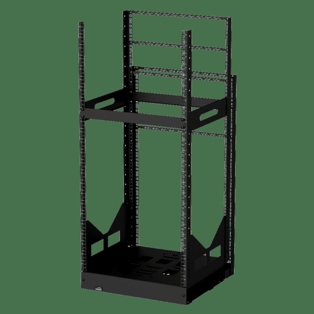 """GPR424 - 19"""" slide-out rack - 24 units - 420mm depth"""