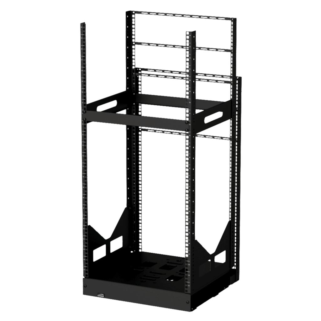 "GPR424 - 19"" slide-out rack - 24 units - 420mm depth"